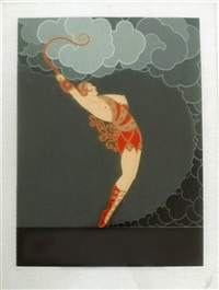 the dancer by erté