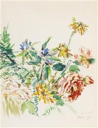 blumen (flowers) by oskar kokoschka