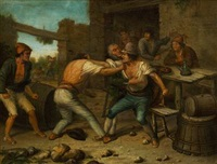 drunken portuguese men fighting in an inn by portuguese school (19)