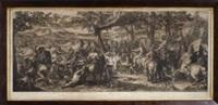 prus blessé amené devant alexandre by gérard audran