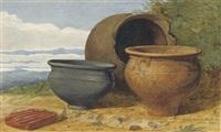 pottery found at marsham, norfolk by anthony frederick augustus sandys