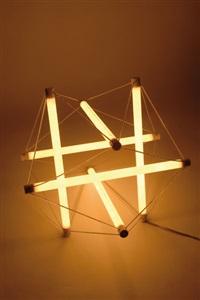 tischleuchte light structure by peter hamburger and ingo maurer