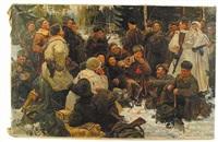 a rest after battle by khari yankovich bobinski