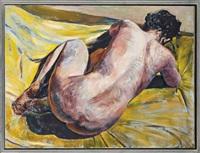kneeling nude by henry korda