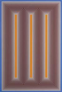 temple of orange light iii by richard anuszkiewicz