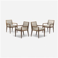 dining chairs, set of four by t.h. robsjohn-gibbings