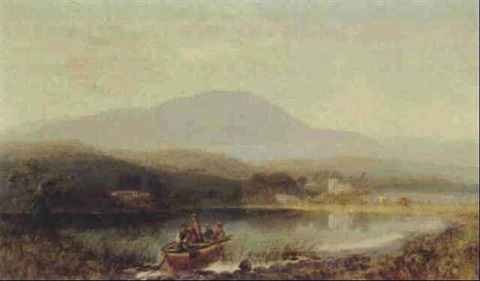 looking towards the wetherlamb mountain and hawkshead eastwaite water nl by charles pettitt