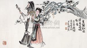 晚香图 (night fragrance) by cheng shifa
