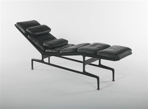chaise charles eames eames lounge and ottoman circa with. Black Bedroom Furniture Sets. Home Design Ideas