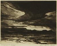 desert storm by carl oscar borg