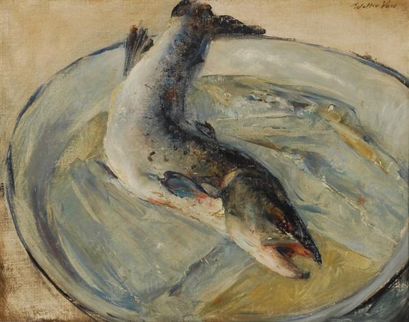 plat avec poisson by walter vaes
