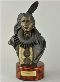 chief standing bear by oreland c. joe