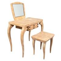 dressing table and stool by ria and youri augousti