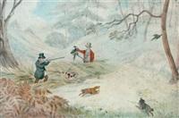 pheasant shooting by samuel alken sr.