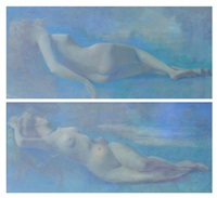 nus féminins (pair) by jean baptiste guth