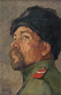 porträt eines russischen soldaten by tony angerer