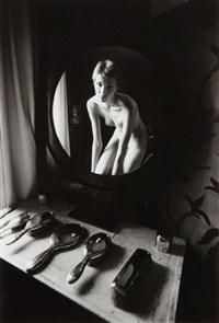 femme nue dans un miroir by jeanloup sieff