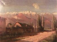 paysage animé au chili by f. vial