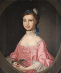 portrait of elizabeth vivian (1751-1823) of rosewarne, cornwall by thomas gainsborough