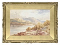 loch achray by henry decon hillier