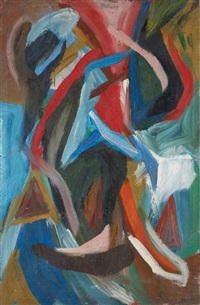 composition a.f by john godenne
