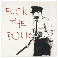 untitled (fuck the police) by banksy