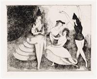 pantomine by marie laurencin