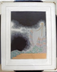 melisande (from the at the theater suite) by erté