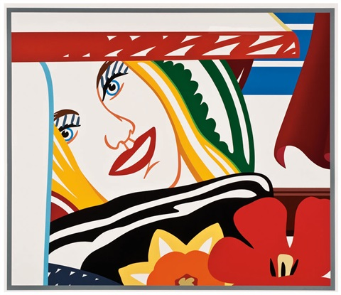 bedroom face 41 by tom wesselmann