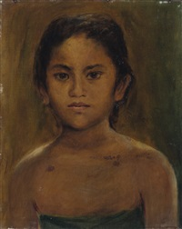 portrait of an indonesian girl by max fleischer