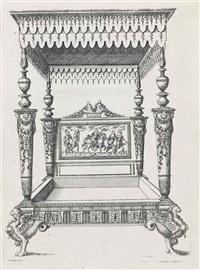 meubles (set of 46 works) by jacques androuet de cerceau