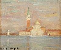 chiesa di san giorgio a venezia by antonio giuseppe santagata