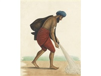 a bhishti (water carrier) by muhammad amir