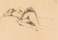 untitled (nude) by georg eisler