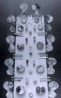 el banquete #2 - 10 figures by alejandro arostegui