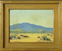 blue mountain - south of victorville by victor clyde forsythe