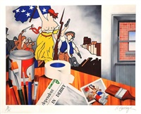 my studio by robert ballagh