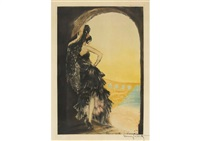 sevilla by louis icart