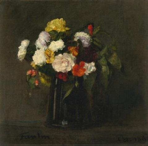 fleurs by henri fantin latour