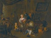 an alchemist's shop by richard brakenburg