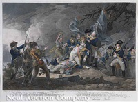 the death of general montgomery at quebec (by w. ketterlinus) by john trumbull