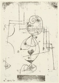 herzdame by paul klee