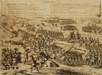 pugna ad steembergam anno y aldenarda capta an 1587 roma, 1632 - 47 by giacomo cortese