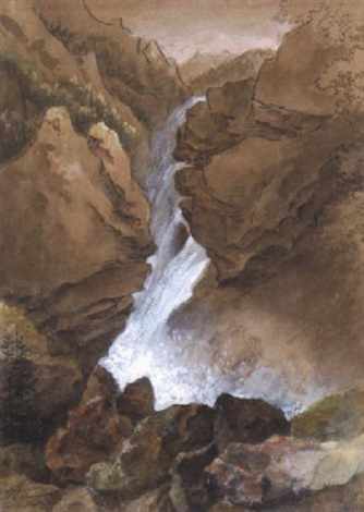 wasserfall by therese holbein