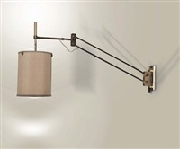 lampada da parete estensibile by tito agnoli