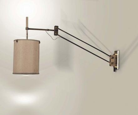 Lampada da parete estensibile by tito agnoli on artnet