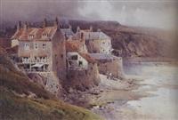coastal scene by arthur tucker