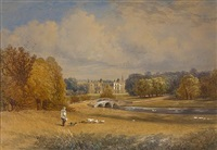 audley end (pair) by john mallows youngman
