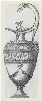 vases et aiguires (set of 49 works) by jacques androuet de cerceau