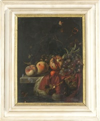 natura morta con frutti by herman verelst
